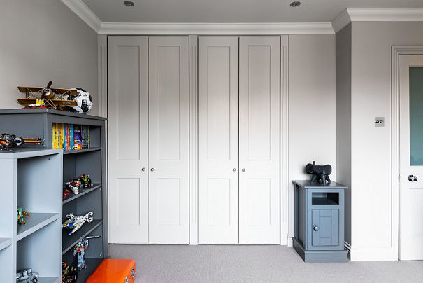 Custom wardrobe doors fitted by a North London carpenter